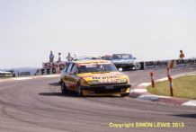 ROVER SD1 Vitesses. Steve Soper etc Donington Park BTCC 1983 photo
